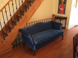 sofa interesting blue suede couch astounding blue suede couch