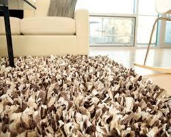 ideas u0026 tips charming mocca shag rugs plus cream sofa for living