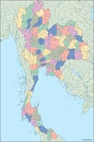 thailand vector map thailand blind map order and thailand blind map made