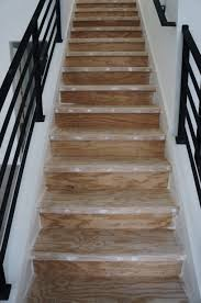 Staircase Laminate Flooring Diy How I Made Over My Stairs Before U0026 After Pictures