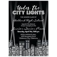 high school reunion invitations high school invitations 6196 plus the city lights high