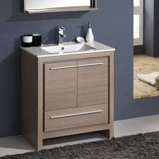 Bathroom Vanity Modern by Fresca Bath Fvn8130go Allier 30