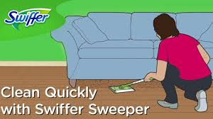 swiffer u0027s quick and easy house cleaning tips ep 6 swiffer