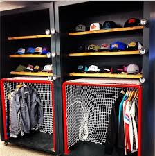 hockey bedrooms cool hockey closet deff going to be my new summer project i
