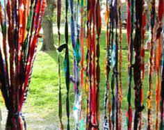 Hippie Beaded Door Curtains Indian Sun Hippie Hippy Tapestry Wall Hanging Throw Tie Dye Hippie