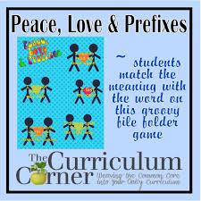 everything prefixes the curriculum corner 123