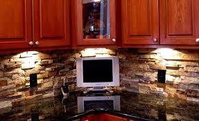 kitchen panels backsplash norstone stacked veneer ochre blend rock panels used as a