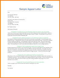 doc 12751650 example of appeal letter u2013 letter of appeal sample