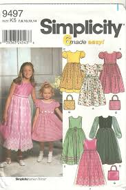 classy patterns simplicity 9497 flower easter petticoat