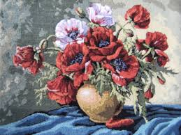 Vase With Red Poppies An Art For Eternity Floral Still Nature