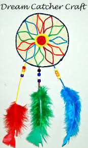 ws dream catcher craft for kids u2022 the preschool toolbox blog