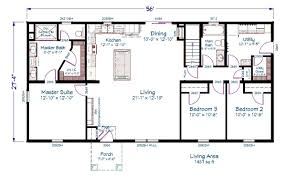 dimensioned floor plan showcase homes of maine bangor me