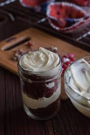 5 ingredient m u0026m u0027s red velvet cake in a mason jar sweetphi