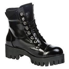 lace up biker boots ladies womens ankle boots ladies shoes lace up platform army combat biker