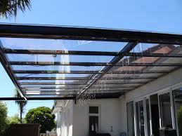 26 unique pergolas with clear roofs pixelmari com