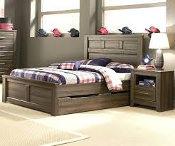 storage bed with trundle medium size of bed with drawers twin