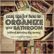 cleaning supply 101 bathroom organization organizing and