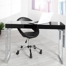 Schreibtisch 120 Design Schreibtisch Konsolentisch Moody 120x60 Hochglanz Weiss