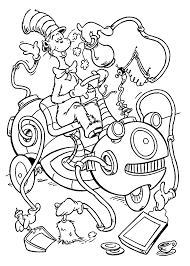 free coloring pages of dr seuss characters coloring home