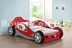 chic ideas car frame bed childrens car beds boys red racing kids