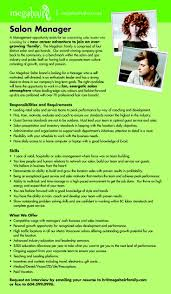 Salon Manager Resume Examples by Resume Examples Salon Manager Augustais
