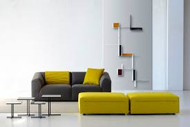 Compact Design Modular Sofa Compact Contemporary Fabric Thea By Lina