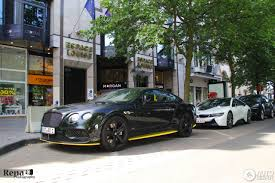 Bentley Continental Gt Speed Black Edition 2016 11 June 2017