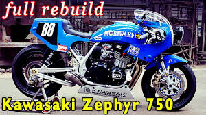 kawasaki zephyr 750 modified dna custom cycles modified bikes