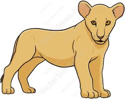 lion cub clipart free collection