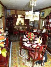 Dollhouse Dining Room Furniture Dolls House Shops Nichol S Afternoon Tea Miniatur Pinterest