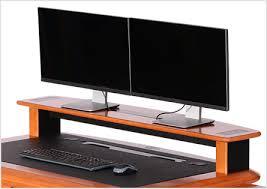 Flat Computer Desk Artistic Computer Desk Caretta Workspace