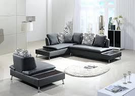 b 205 modern red and white leather sectional sofa set circle
