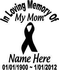 in loving memory items in loving memory of beloved memorial window decal ebay