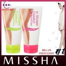 Shower Comfort Tẩy Lông Missha In Shower Comfort Hair Removal Cream