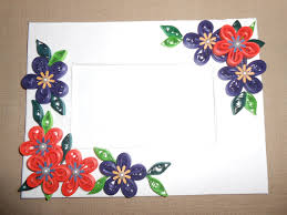 how to make beautiful quilling photo frame making tutorial