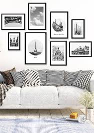 black decor best ideas black and white superb black and white wall decor sofa
