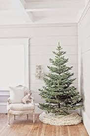 white tree skirt creative ideas for christmas tree skirts southern living