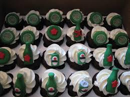 heineken beer cake heineken themed cupcakes cakecentral com