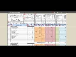 Estate Investment Spreadsheet Template by Property Investment Spreadsheet Templates Free Trial