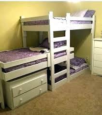 Three Tier Bunk Bed 3 Bed Bunk Canalcafe Co