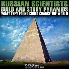 russian scientists build and study pyramids what they found