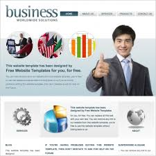 business worldwide solutions template free website templates in