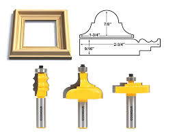 Kitchen Cabinet Router Bits by Modern Router Bit Profiles For Frame With Detailed Molding With