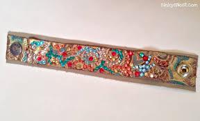 leather bracelet with swarovski crystal images Twenty8divine swarovski crystal leather cuff bracelet jpg