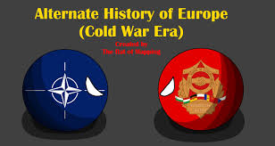 Map Of Cold War Europe by Alternate History Of Europe In Countryballs Cold War Era Ep 1