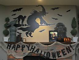 my halloween mantel and my etsy shop classy clutter