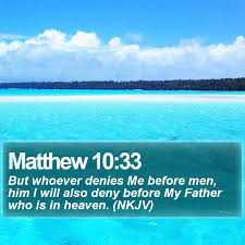 matthew 10 33 daily bible verse bible quote words u0026 quotes