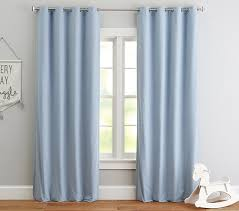Black Out Curtains Hayden Blackout Panel Pottery Barn