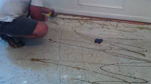 Laminate Flooring Concrete Slab How To Remove Tack Strip From Concrete Flooring Youtube