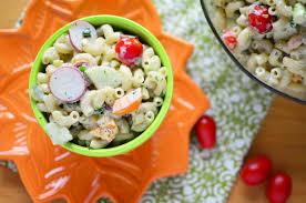 classic pasta salad green goddess macaroni salad simple sweet u0026 savory